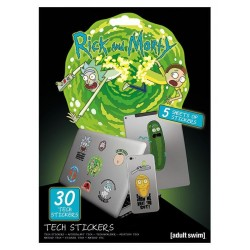 RICK & MORTY - Tech Stickers Pack - Adventures 178807  Stickers