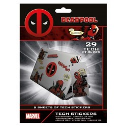 DEADPOOL - Tech Stickers Pack - Merc With A Mouth 178810  Stickers