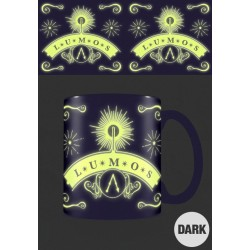 HARRY POTTER - Glow in the Dark Mug 315 ml - Lumos 178816  Harry Potter Bekers
