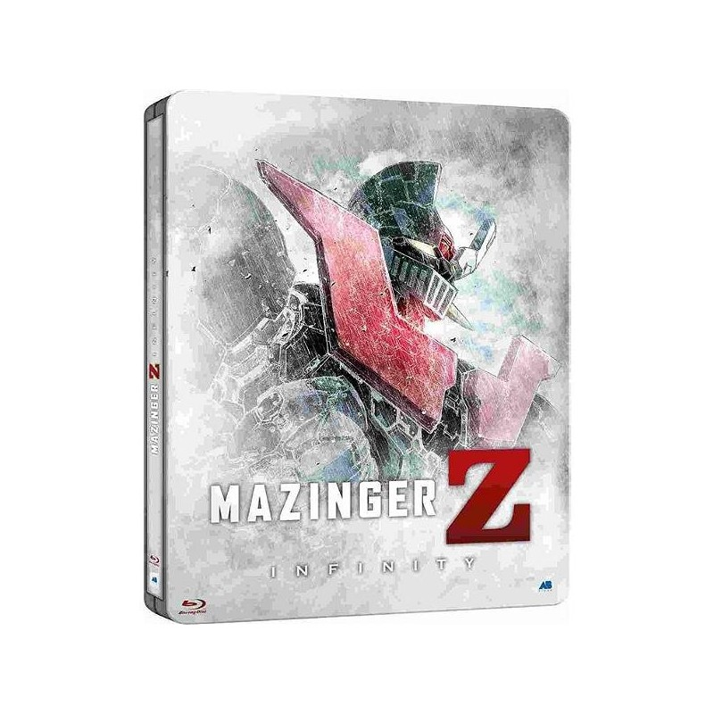 MAZINGER Z INFINITY - Blu Ray STEELBOX Edition 167504  Blu Ray