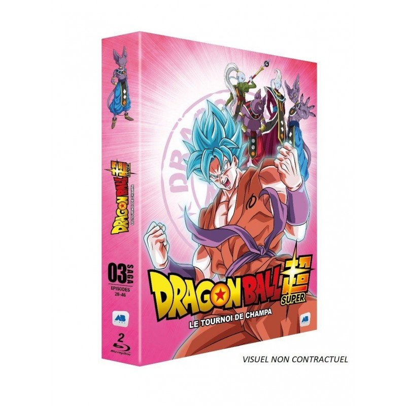 DRAGON BALL SUPER - Vol 3 - Le Tournoi de Champa (2BR) 167501  Blu Ray