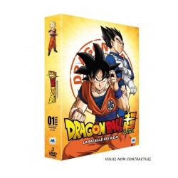 DRAGON BALL SUPER - Vol 1 - La Bataille des Dieux (3DVD)