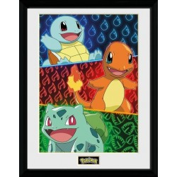 POKEMON - Collector Print 30X40 - Starters Glow 178991  Posters