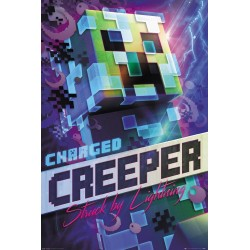 Minecraft - Poster 61X91 - Charged Creeper 179012  Posters