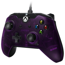 PDP - Wired Controller Official Xbox One Purple 178995  XboxOne Controllers