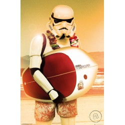 STAR WARS - Poster 61X91 - Stormtrooper Surf 179019  Posters