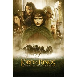 THE LORD OF THE RINGS - Poster 61X91 - Fellowship of The Ring 179027  Posters