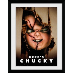 CHUCKY - Collector Print 30X40 - Here's Chucky 179045  Collector Print Canvas