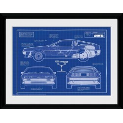 BACK TO THE FUTURE - Collector Print 30X40 - Blueprint 179046  Posters