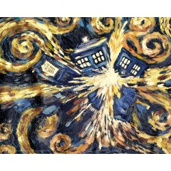DOCTOR WHO - Mini Poster 40X50 - Exploding Tardis 179057  Posters