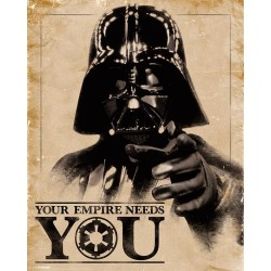 STAR WARS - Mini Poster 40X50 - Your Empire Needs You 179078  Posters