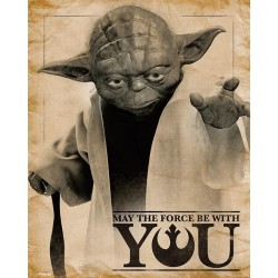 STAR WARS - Mini Poster 40X50 - May the force be with you 179079  Posters