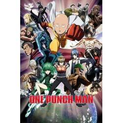 ONE PUNCH MAN - Poster 61X91 - Collage 154583  Posters