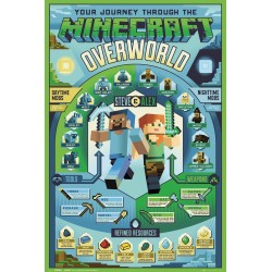 MINECRAFT - Poster 61X91 - Overworld Biome 179131  Posters
