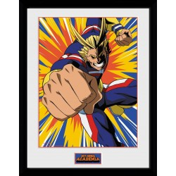 My Hero Azademia - Collector Print 30X40 - All Might Action 179144  Posters
