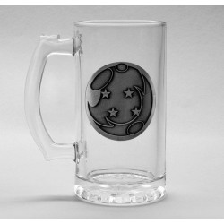 DRAGON BALL Z - Beer Glass 500ml Metal Badge - Dragon Ball 179172  Bierglazen