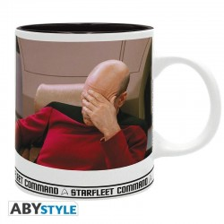 STAR TREK - Beker 320 ml - Facepalm - Subli