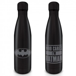 DC COMICS - Metal Drinks Bottle 550 ml - Batman 179320  DC Comics