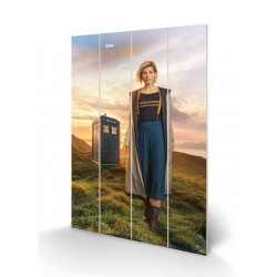 DOCTOR WHO - Wood Print 40X59 - 13th Doctor 179396  Houten borden