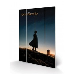 DOCTOR WHO - Wood Print 40X59 - New Dawn 179397  Houten Canvas