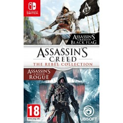Assassin's Creed Black Flag + Assassin's Creed Rogue Remastered (Rebel Collection) - Nintendo Switch 179371  Nintendo Switch