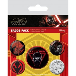 Star Wars: The Rise of Skywalker - Pack 5 Badges - Sith 179574  Pin & Spelden