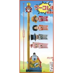 ONE PIECE - Figurine WCF Carp Streamer - Pack Complete 5 Pces 167413  Figurines