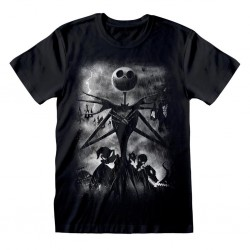 NIGHTMARE BEFORE CHRISTMAS - T-Shirt - Stormy Skies (S) 179678  T-Shirts
