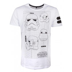STAR WARS - Men T-Shirt Imperial Army - (S) 179776  T-Shirts