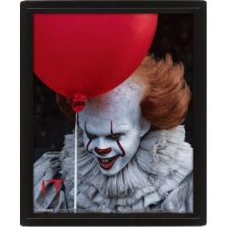 IT - 3D Lenticular Poster 26X20 - Pennywise Evil 180009  Lenticular Posters