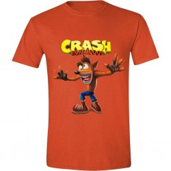 CRASH BANDICOOT - T-Shirt Crazy Crash Face (S) 167399  Alles