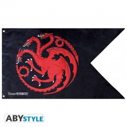 GAME OF THRONES - Vlag 70X120cm - Targaryen 180018  Vlaggen
