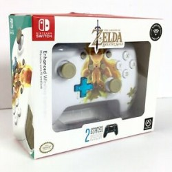 POWER A - Wireless Controller Zelda BOTW for Nintendo Switch 171619  Switch Controllers