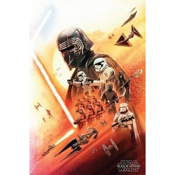 Star Wars: The Rise of Skywalker - Poster 61X91 - Kylo Ren 179580  Posters