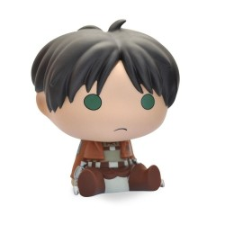 ATTACK ON TITAN - Mini Money Box - Chibi Eren - 13cm 180054  Spaarpotten