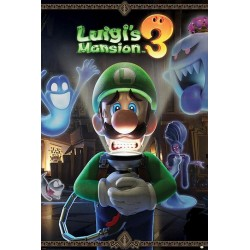 NINTENDO - Poster 61X91 - Luigi's Mansion 3 - You're in for a Fight 180554  Posters