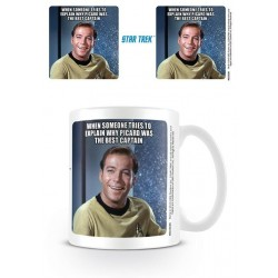 STAR TREK - Mug - 315 ml - Kirk Laughing 180572  Star Trek