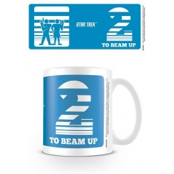 STAR TREK - Beker - 315 ml - Two to Beam Up