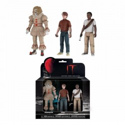 IT - 3 figures pack - Pennywise, Stan & Mike - 12cm 180596  Figurines