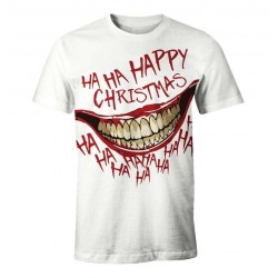 DC COMICS - T-Shirt Happy Christmas - The Joker (XXL) 179822  T-Shirts The Joker