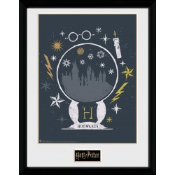 HARRY POTTER - Collector Print 30X40 - Christmas Snowglobe 181031  Posters