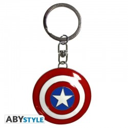 MARVEL - Keychain Metal 3D - Captain America's Shield 181180  Sleutelhangers