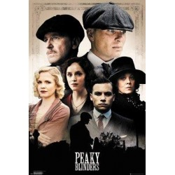 PEAKY BLINDERS - Poster 61X91 - Cast 181223  Posters
