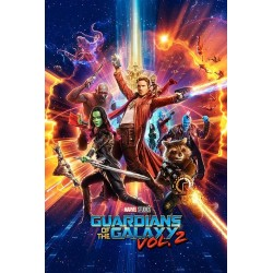 GUARDIANS OF THE GALAXY 2 - Poster 61X91 - One Sheet 181238  Nieuwe imports