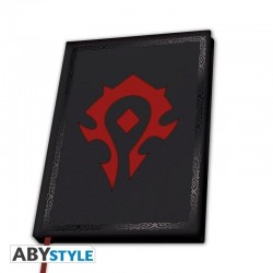 WORLD OF WARCRAFT - Notebook A5 - Horde 181588  Notitie Boeken
