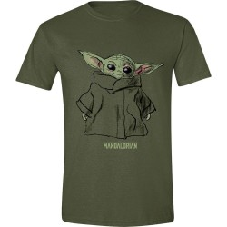 THE MANDALORIAN - T-Shirt Men - The Child Sketch - (S) 181778  T-Shirts Mandalorian