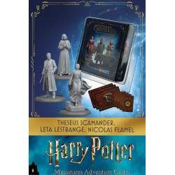 HARRY POTTER - Miniature Adventure Game - Theseus, Leta, Flamel - UK 181485  Nieuwe imports