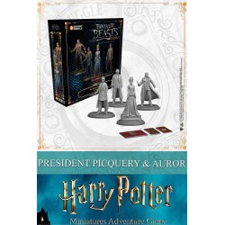 HARRY POTTER - Miniature Adventure Game - Picquery & Aurors - UK 181487  Nieuwe imports