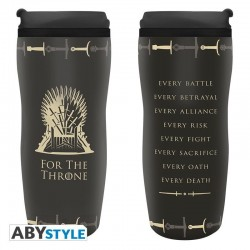 GAME OF THRONES - Tumbler Koffiebeker to go 355ml - Throne