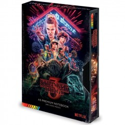 STRANGER THINGS - Notebook A5 Premium - VHS Season 3 181997  Nieuwe imports